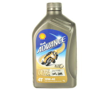 Shell Advance Ultra 4T 10W-40 1L