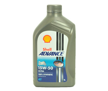 Shell Advance Ultra 4T 15W-50 1L