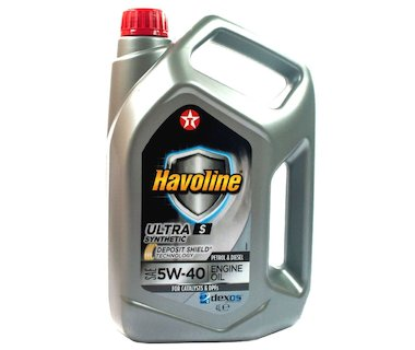 Texaco Havoline Ultra S 5W-40 4L