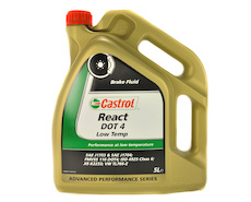 Castrol React DOT 4 Low Temp 5L